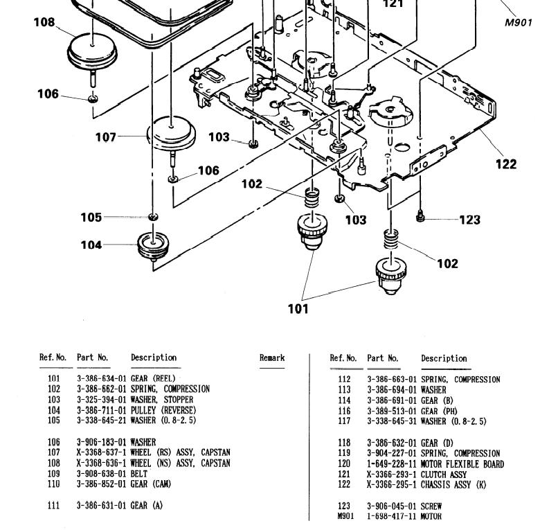 Walkman Belt for Sony WM-EX502 WM-EX522 WM-EX508 WM-55 WM-AF62 WM-BF65 WM-GX400